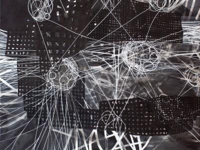 no.: drei, 120cm x 100cm, acryl auf leinwand, 2016